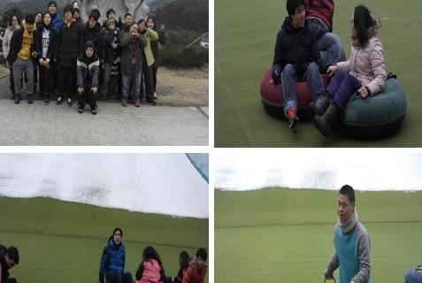 [차오름주간보호센터] 2015년 1월 눈썰매에 행복을 싣고